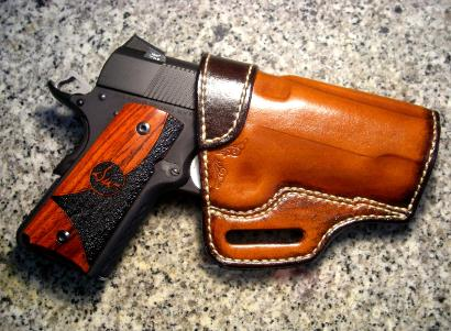 custom leather concealment holsters