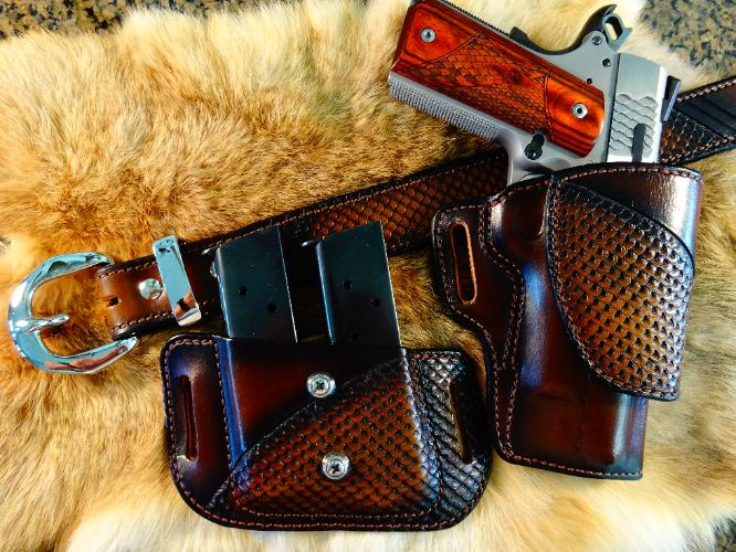 best custom holsters, professional guneather