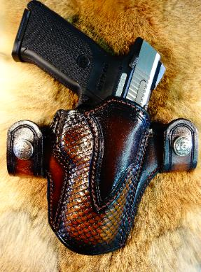 Custom concealed carry holsters