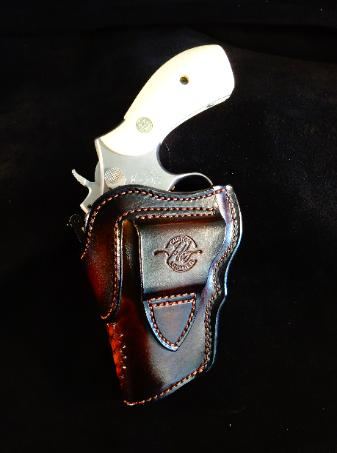 custom leather holsters for concealed carry