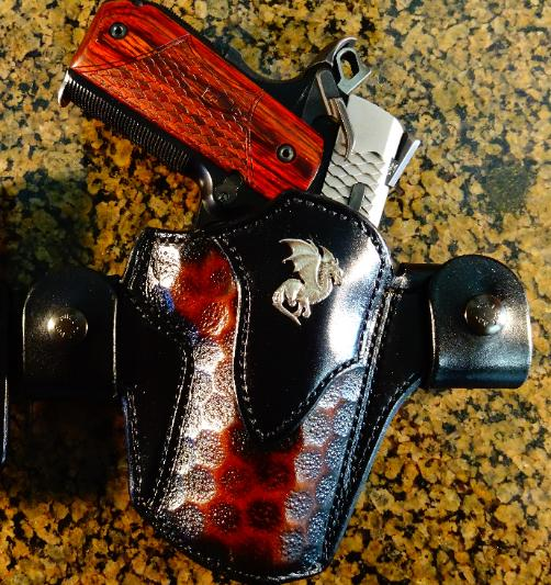 custom Dragon holsters for 1911's