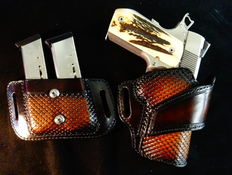 best custom leather concealment holsters