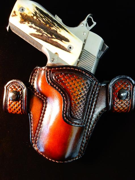 best custom leather holsters, made in USA