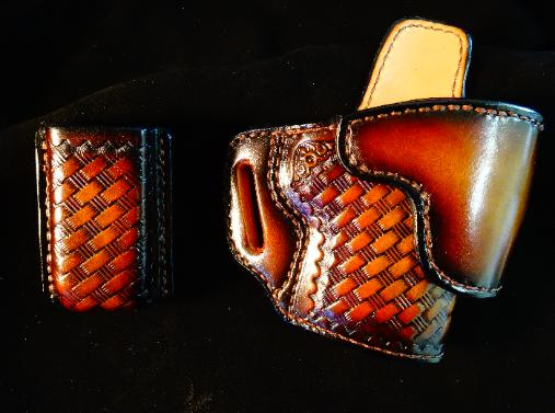 hand tooled gunleather holsters