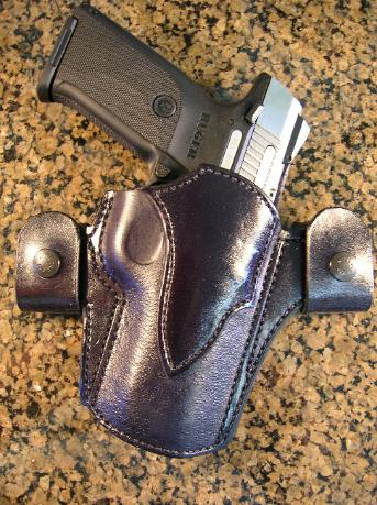 Handmade, concealed carry holsters